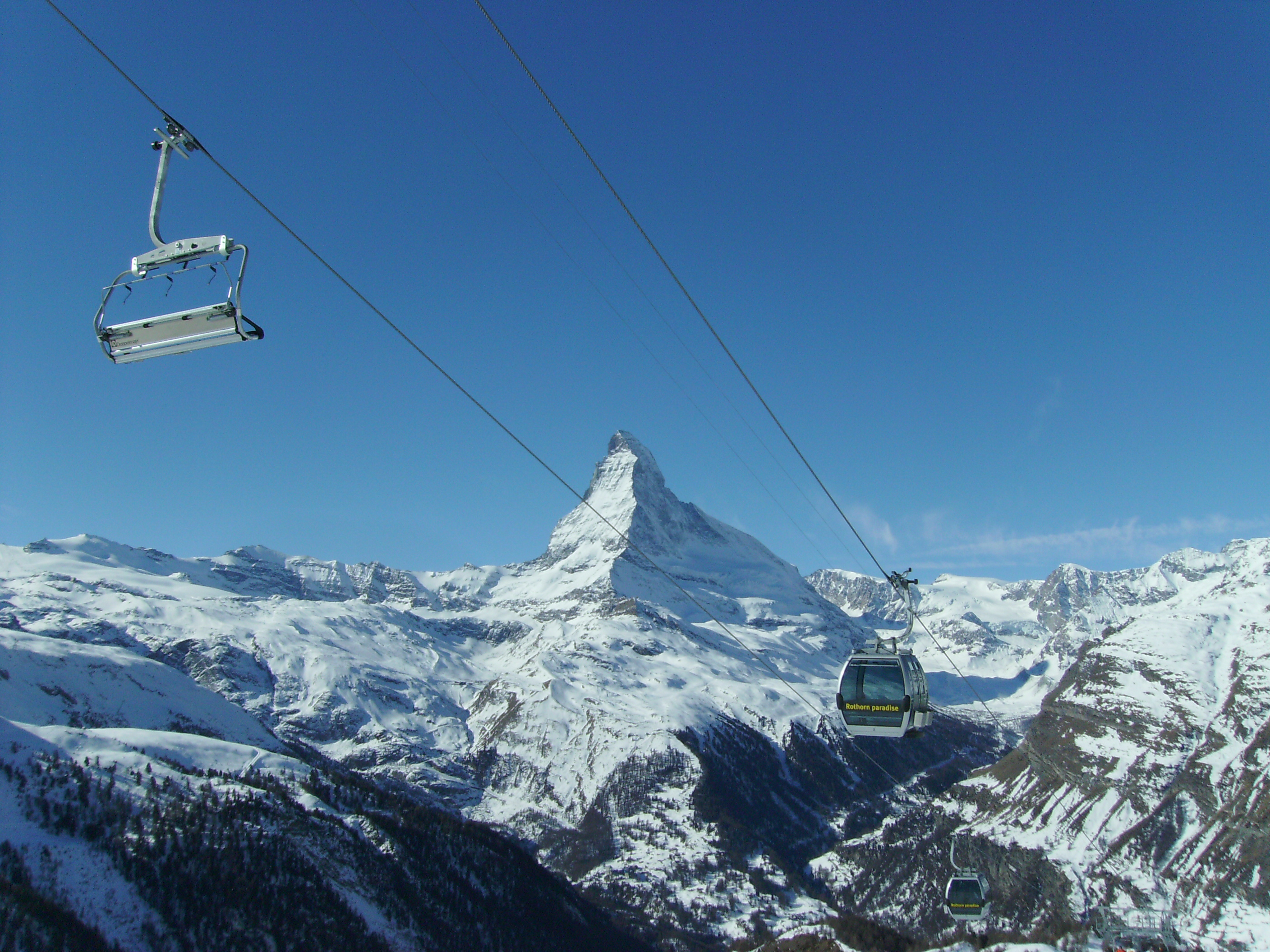 Zermatt lifts