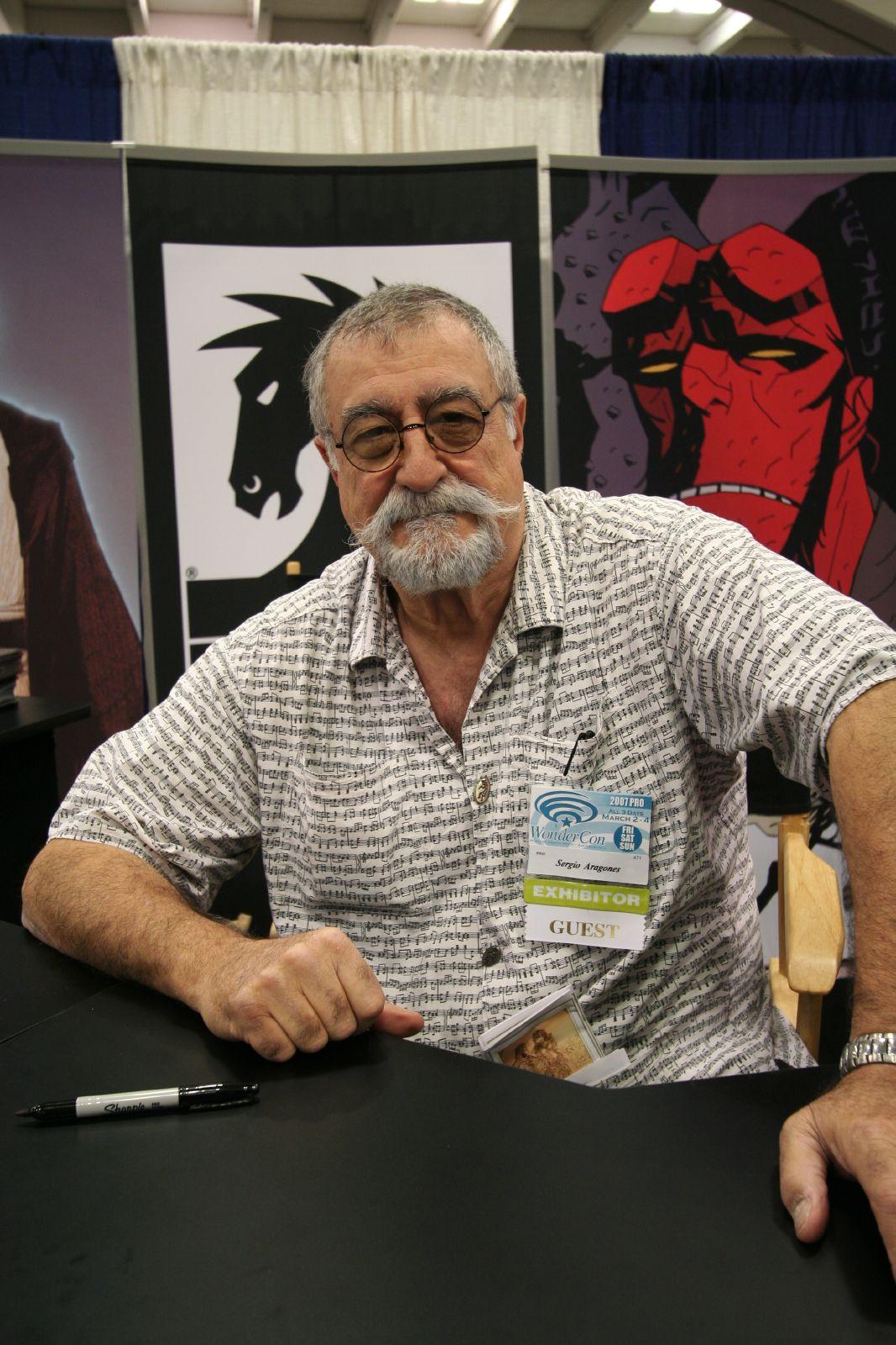 Sergio Aragonés - Wikipedia, la enciclopedia libre