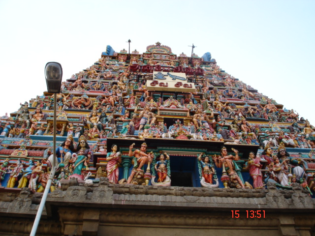 Chennai India  City pictures : Description Shiva Temple Chennai India