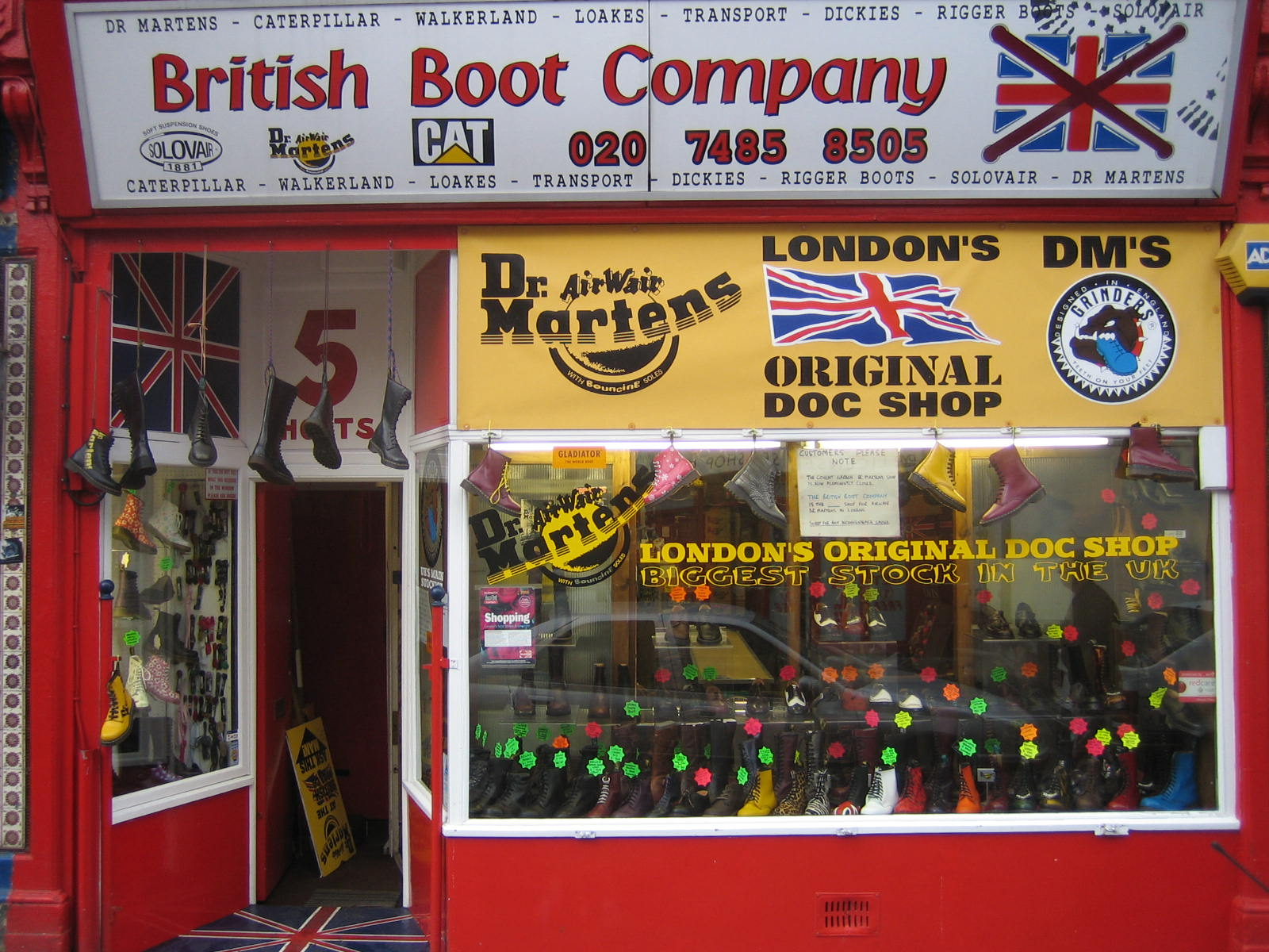 uk availability 34de0 ee919 British Boot Company - Wikipedia