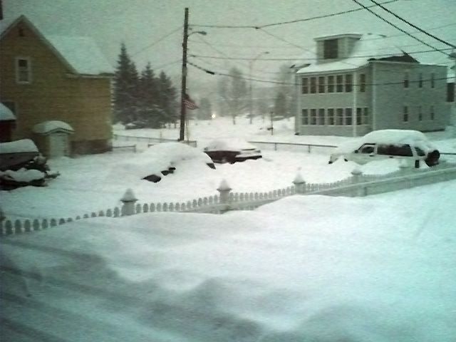 New Hampshire Snow Storm