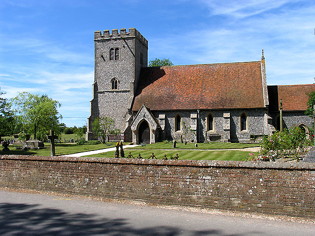 St Mary's and St Nicholas, Compton - geograph.org.uk - 20753