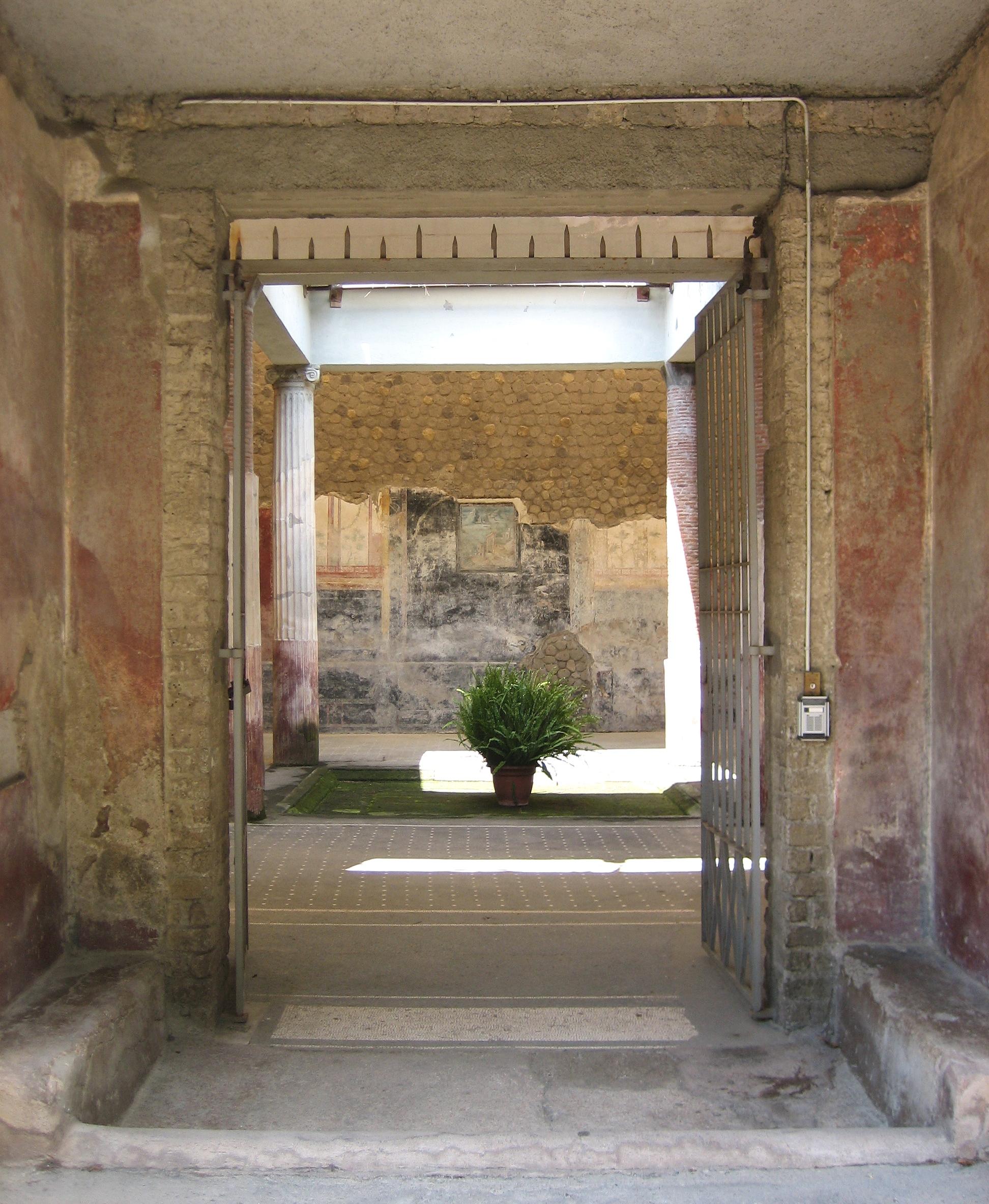 Ingresso Villa Romana Del Casalw