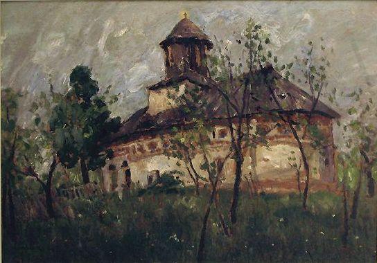 File:Stefan Luchian - Biserica la sat.jpg
