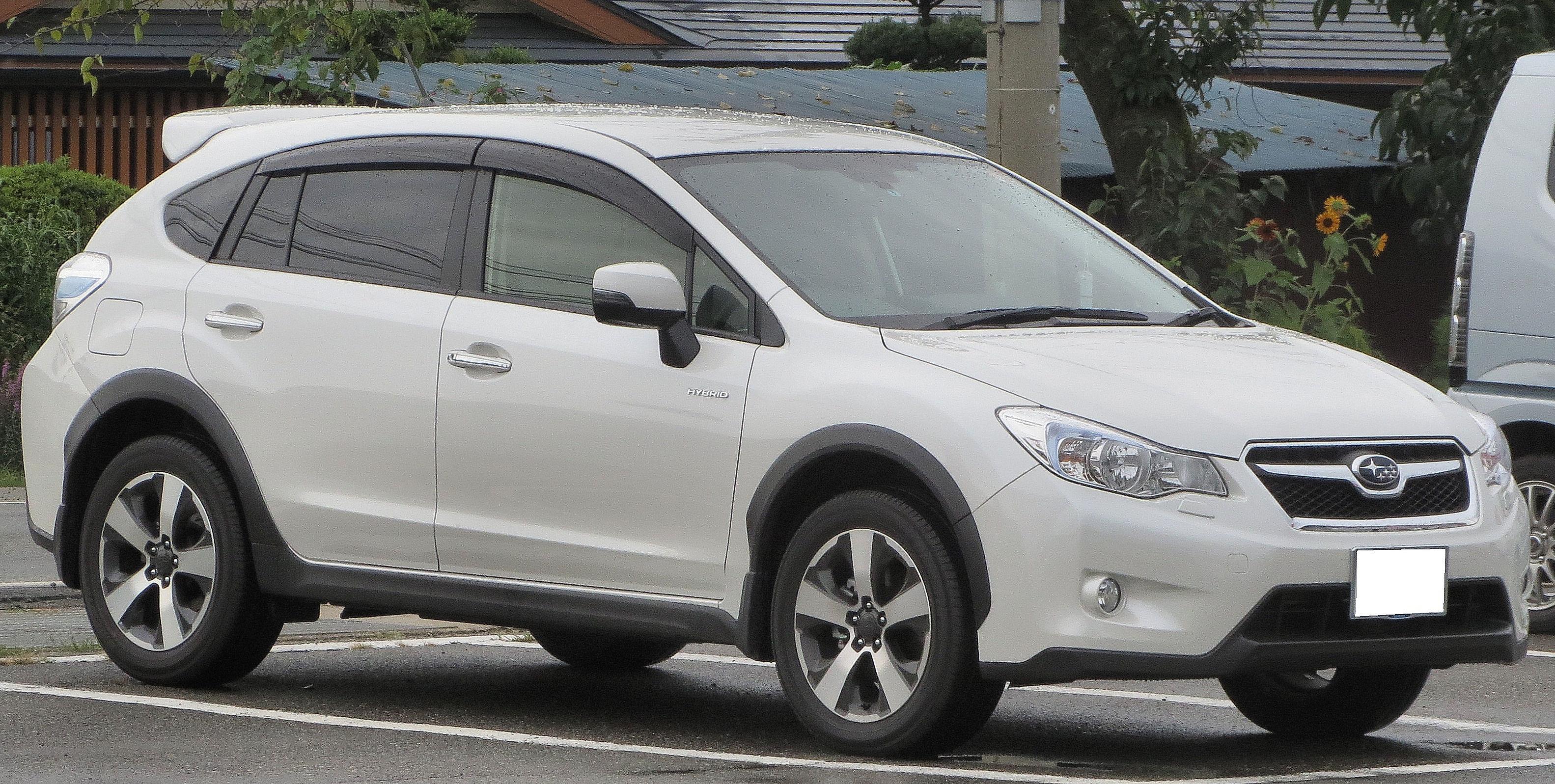 Subaru Impreza Sport Hybrid >> File:Subaru XV HYBRID 2.0i-L EyeSight w.JPG