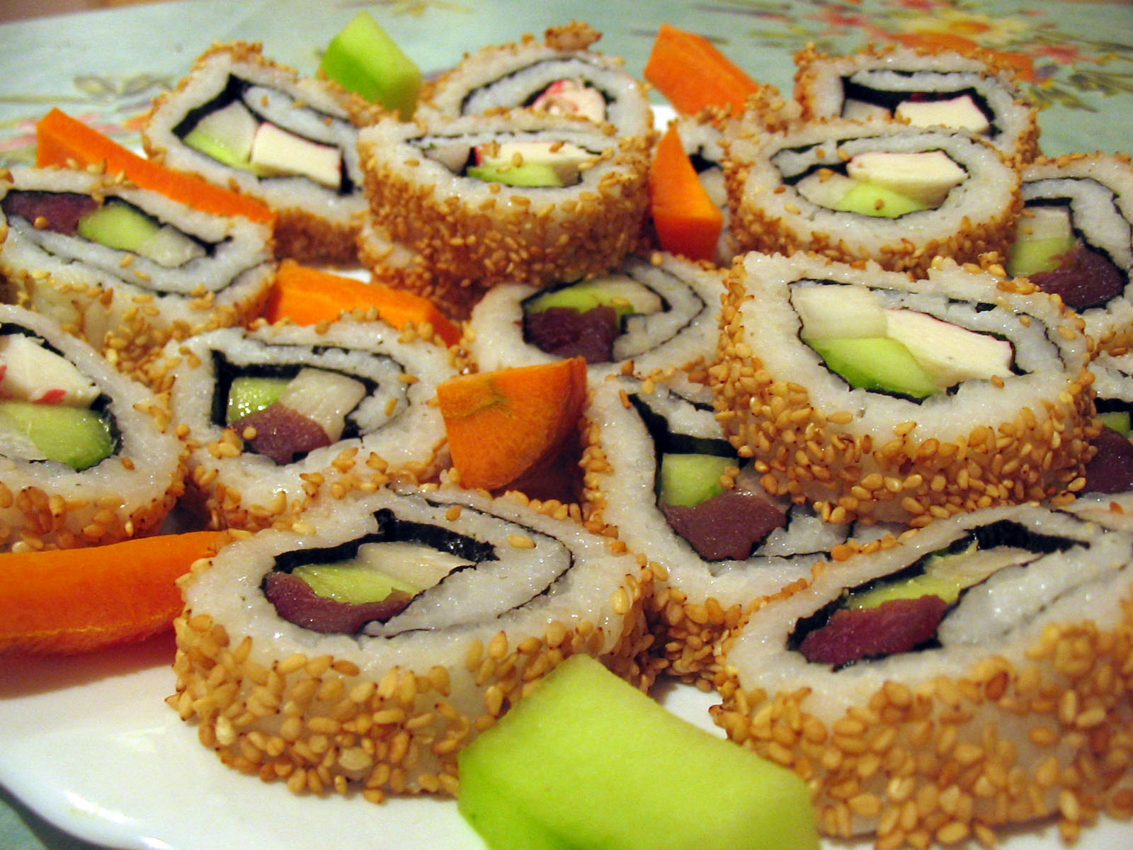 This is an image of sushi