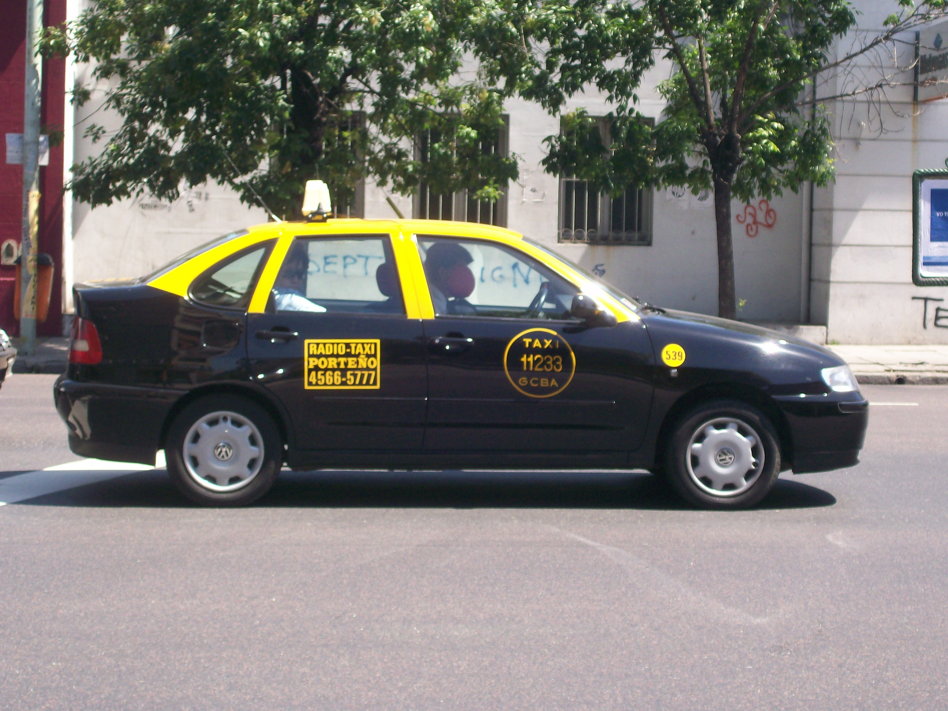 Táxi do Aeroparque para centro de Buenos Aires