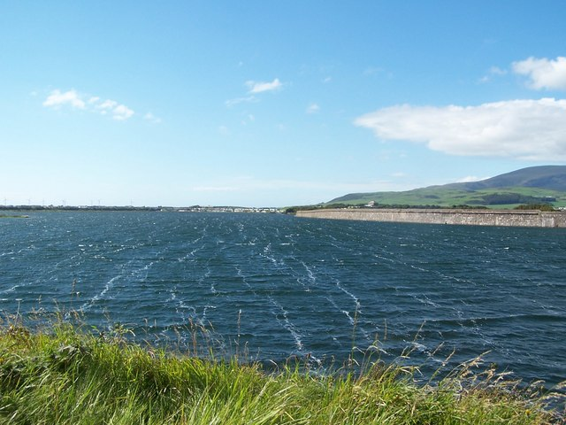 The wind blows, Haverigg harbour - geograph.org.uk - 1393621