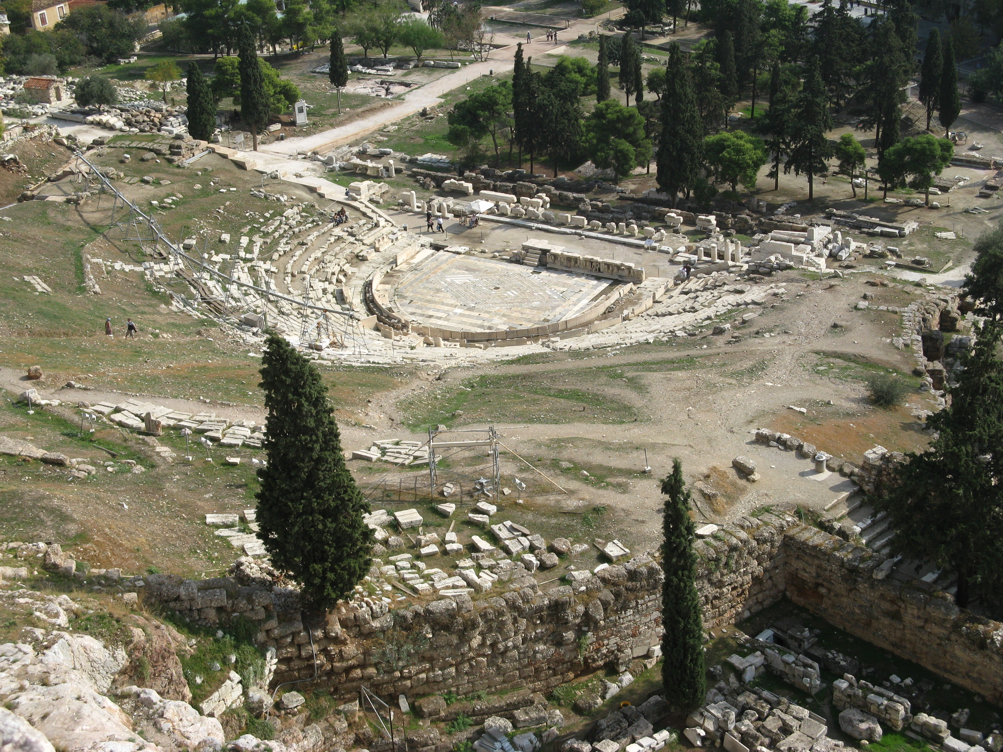 File:Theatre of Dionysus-Athens.jpg - Wikimedia Commons