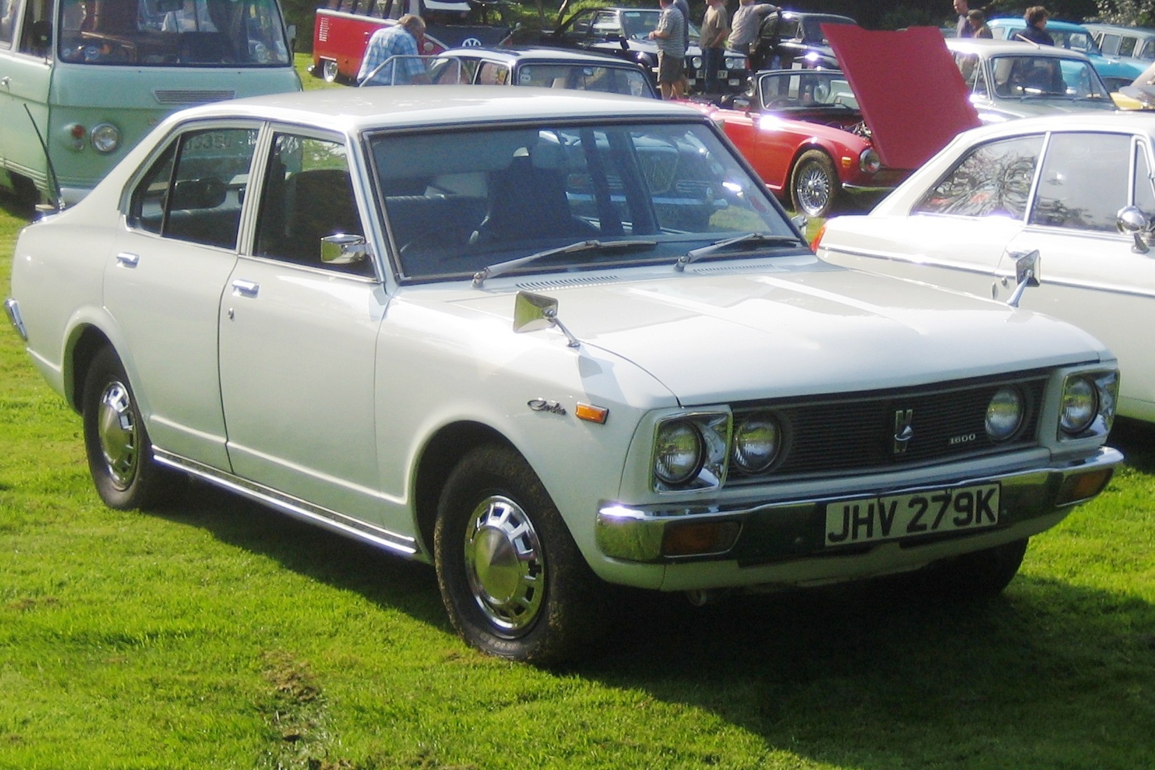 File Toyota Carina Bj Ca 1971 Photo 2008 Castle Hedingham