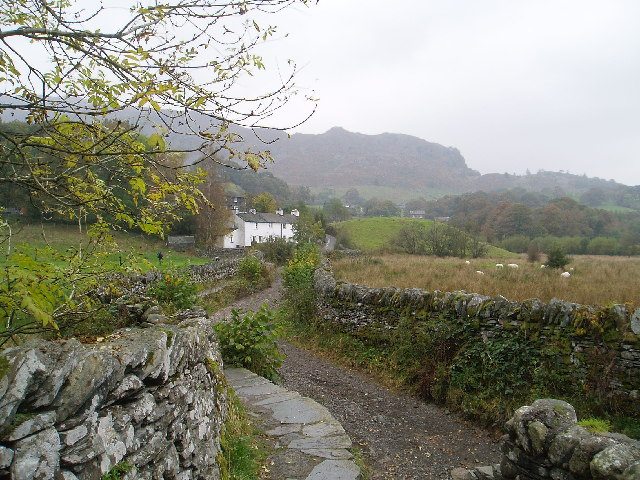 Track to Little Langdale - geograph.org.uk - 106830
