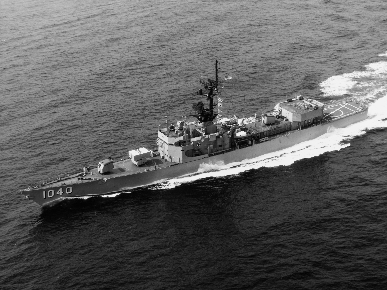 USS GARCIA FF 1040 DE 1040 Street Sign U S  Navy USN Military