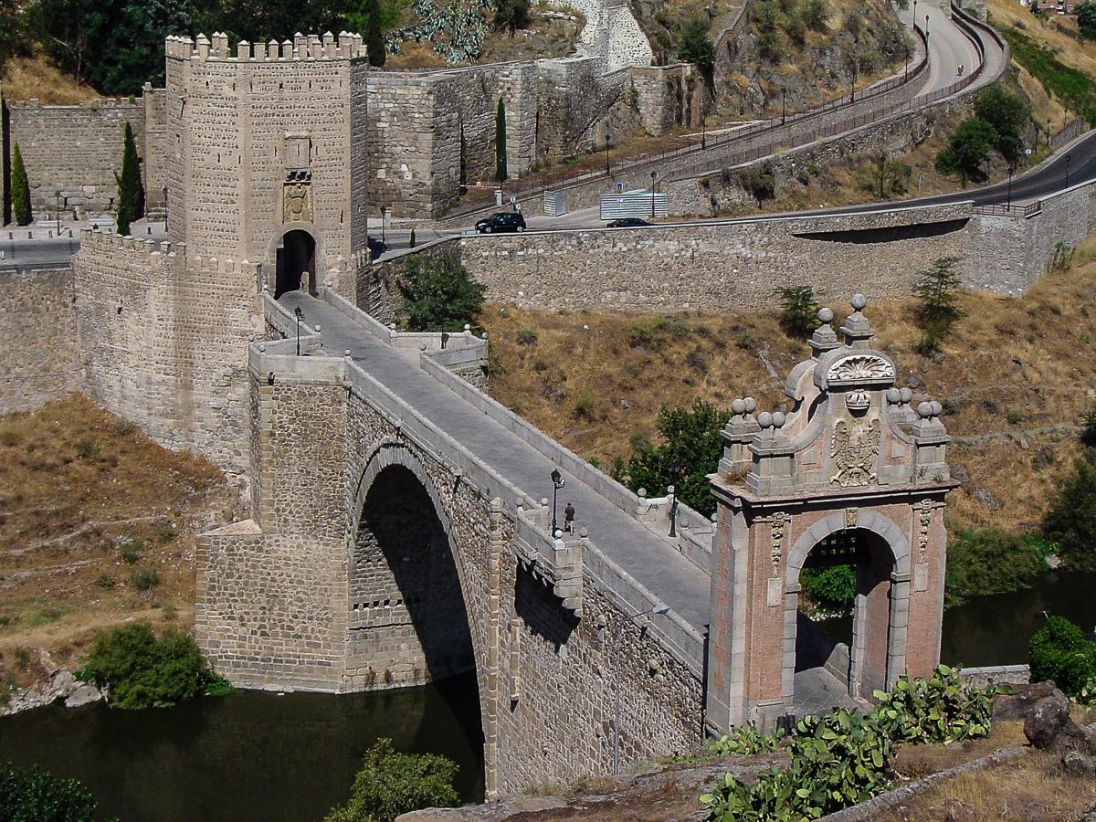 Resultado de imagen de puente de alcántara toledo spain