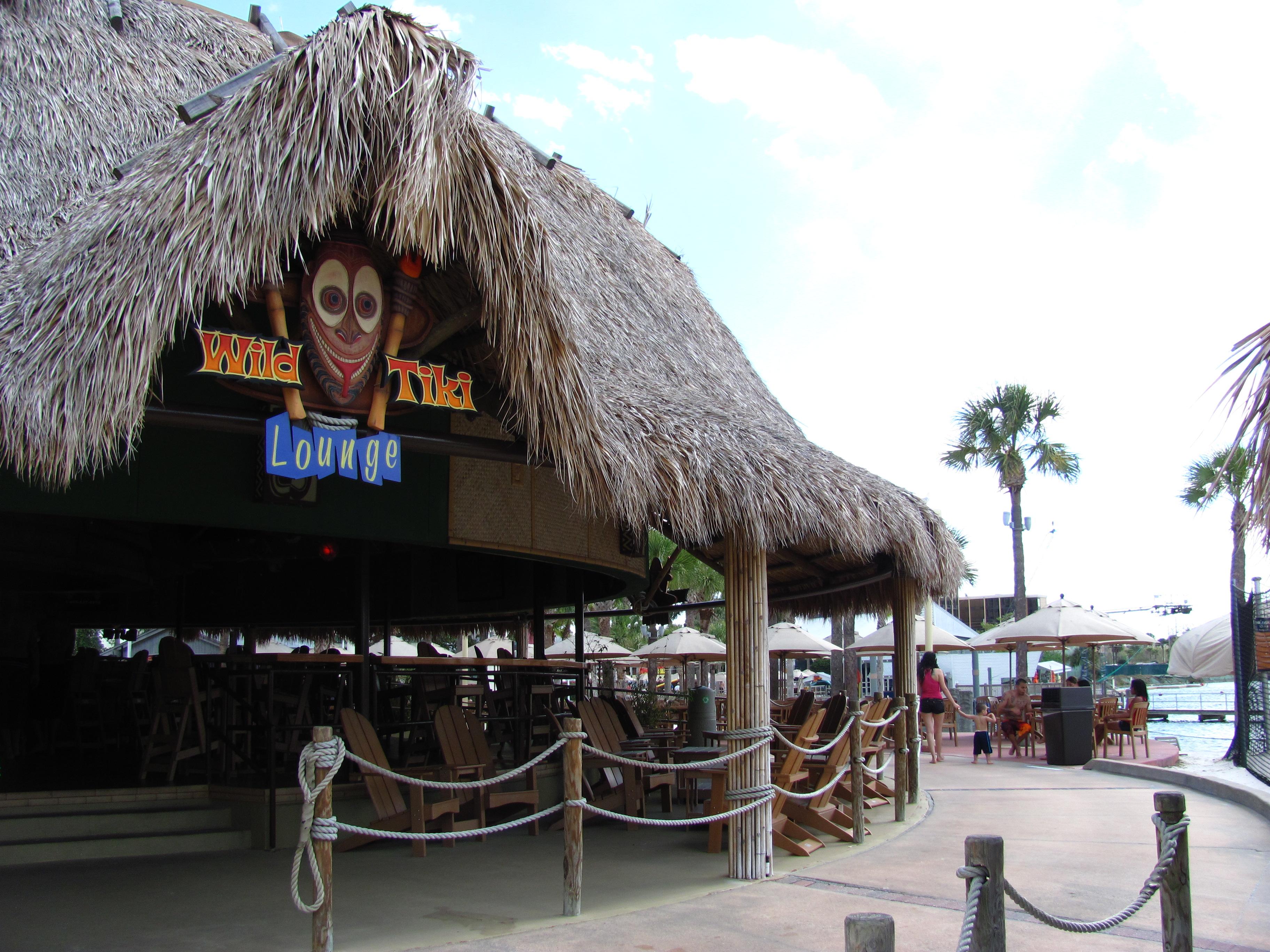 Tiki Lounge Wet n Wild Orlando