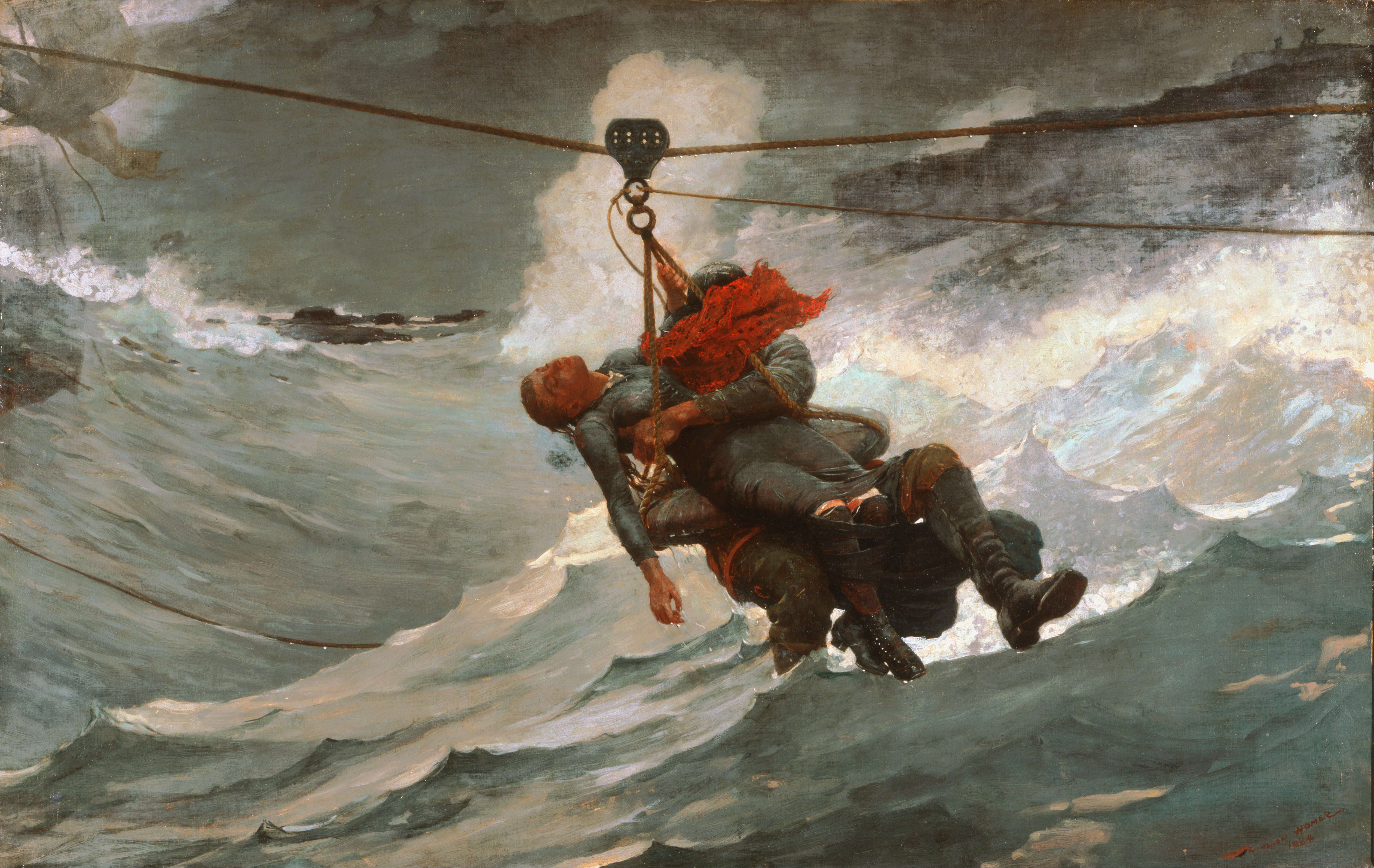 Line Project Art : File winslow homer american the life line google art project