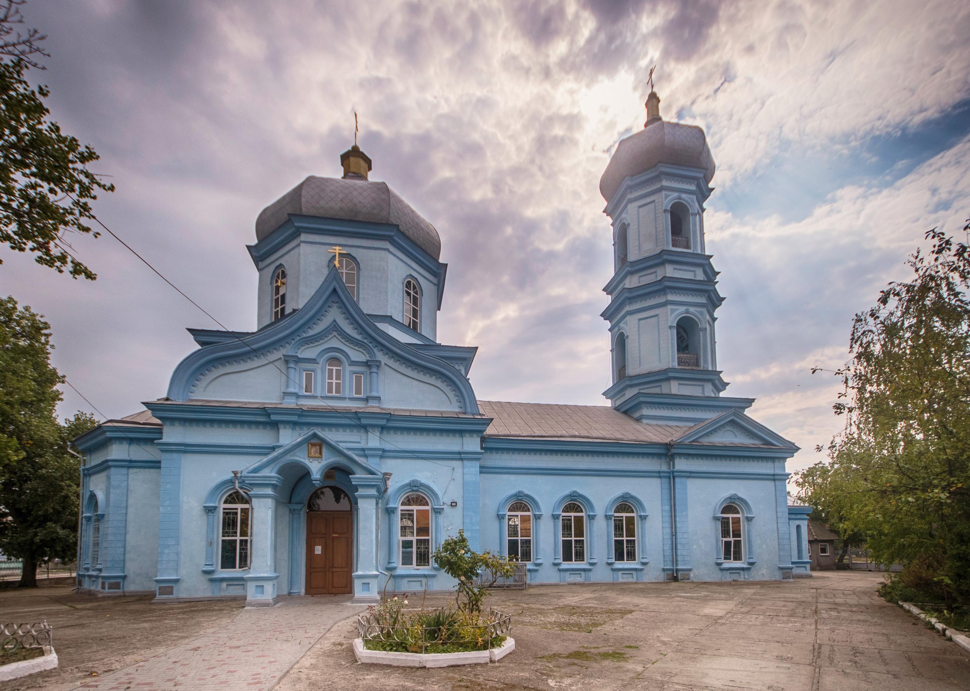 Никольская церковь (Вилково) — Википедия