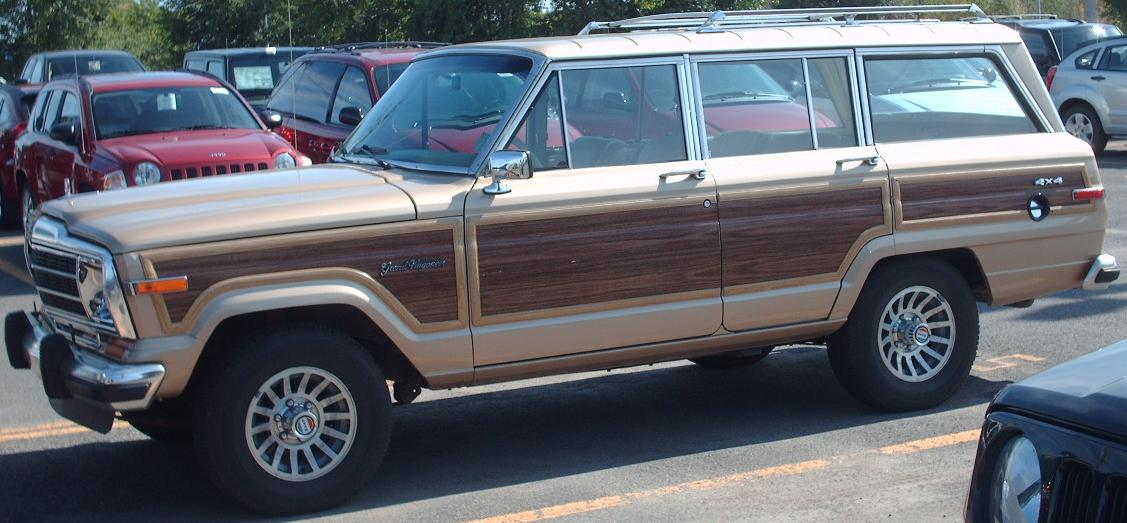 File 88 91 Jeep Grand Wagoneer 4x4 Jpg Wikimedia Commons