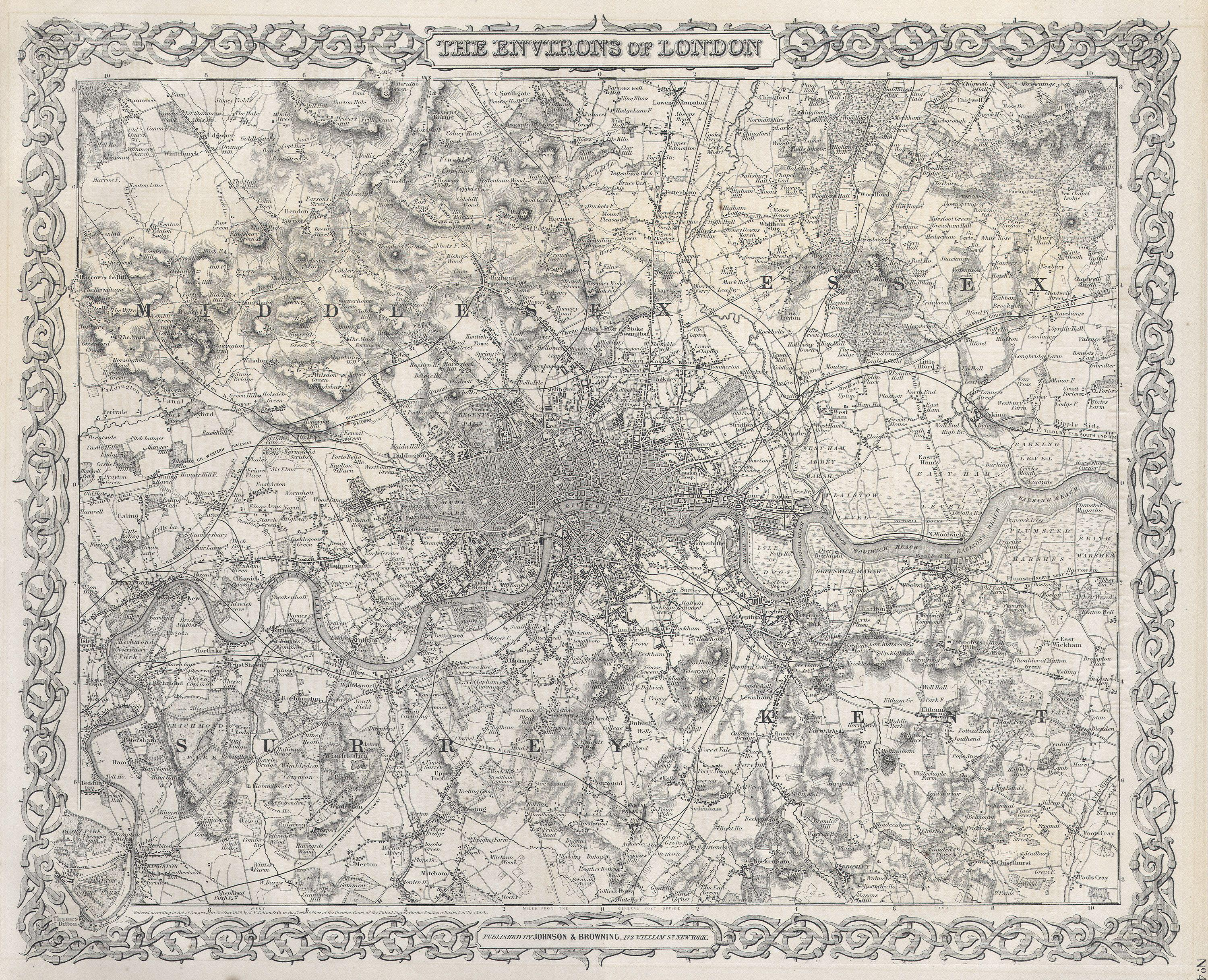 File Colton Map Or Plan Of London England Geographicus - 02 london map