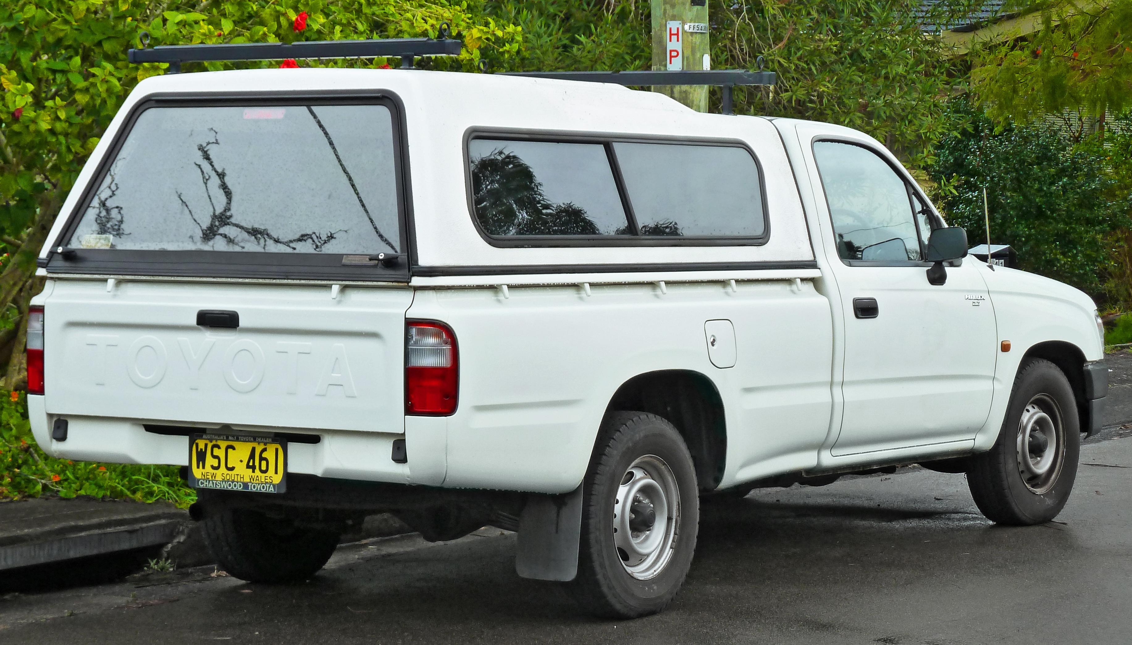 File 1997 2001 Toyota Hilux Rzn149r 2 Door Utility 2011
