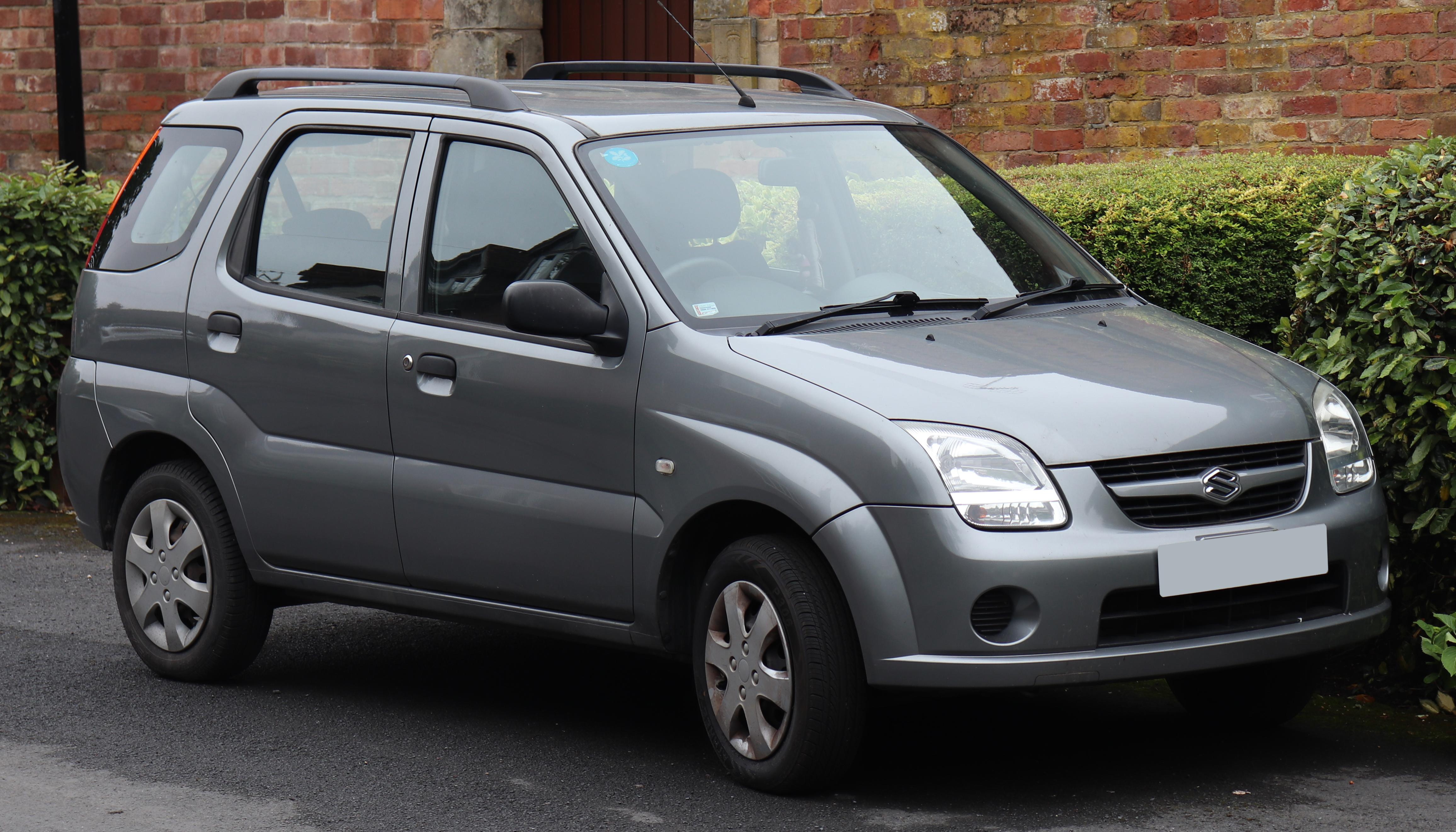 File 2007 Suzuki Ignis Gl 1 3 Front Jpg Wikimedia Commons