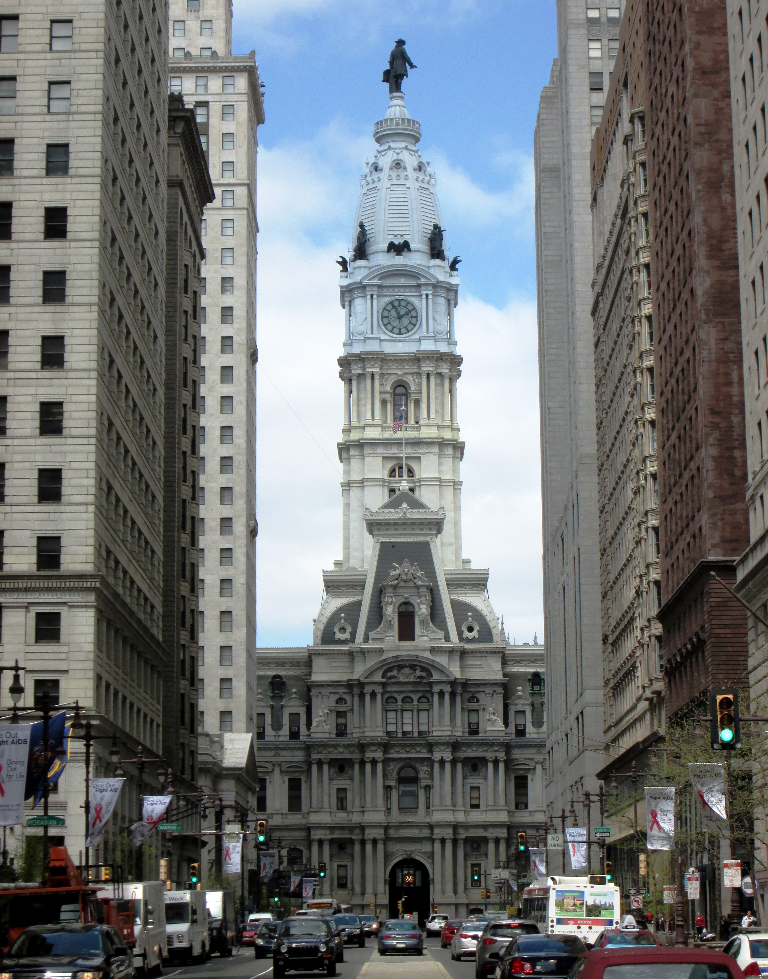 2013 Philadelphia City Hall from S. Broad Street at Locust Street.jpg