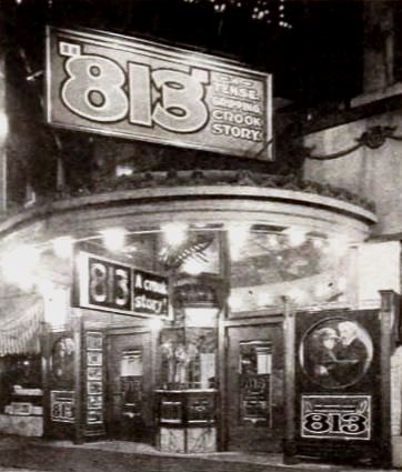 File:813 (1920 film) - American Theater, Butte, Montana 1921