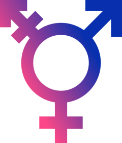 A_TransGender-Symbol_Plain2 from Wikimedia Commons