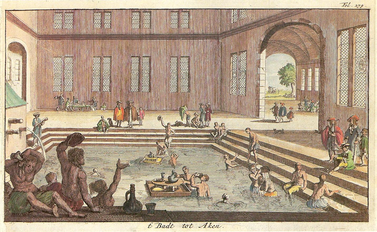 Resultado de imagem para Bath in the middle ages