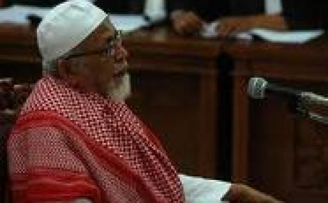 Abu Bakar Ba'asyir in 2011