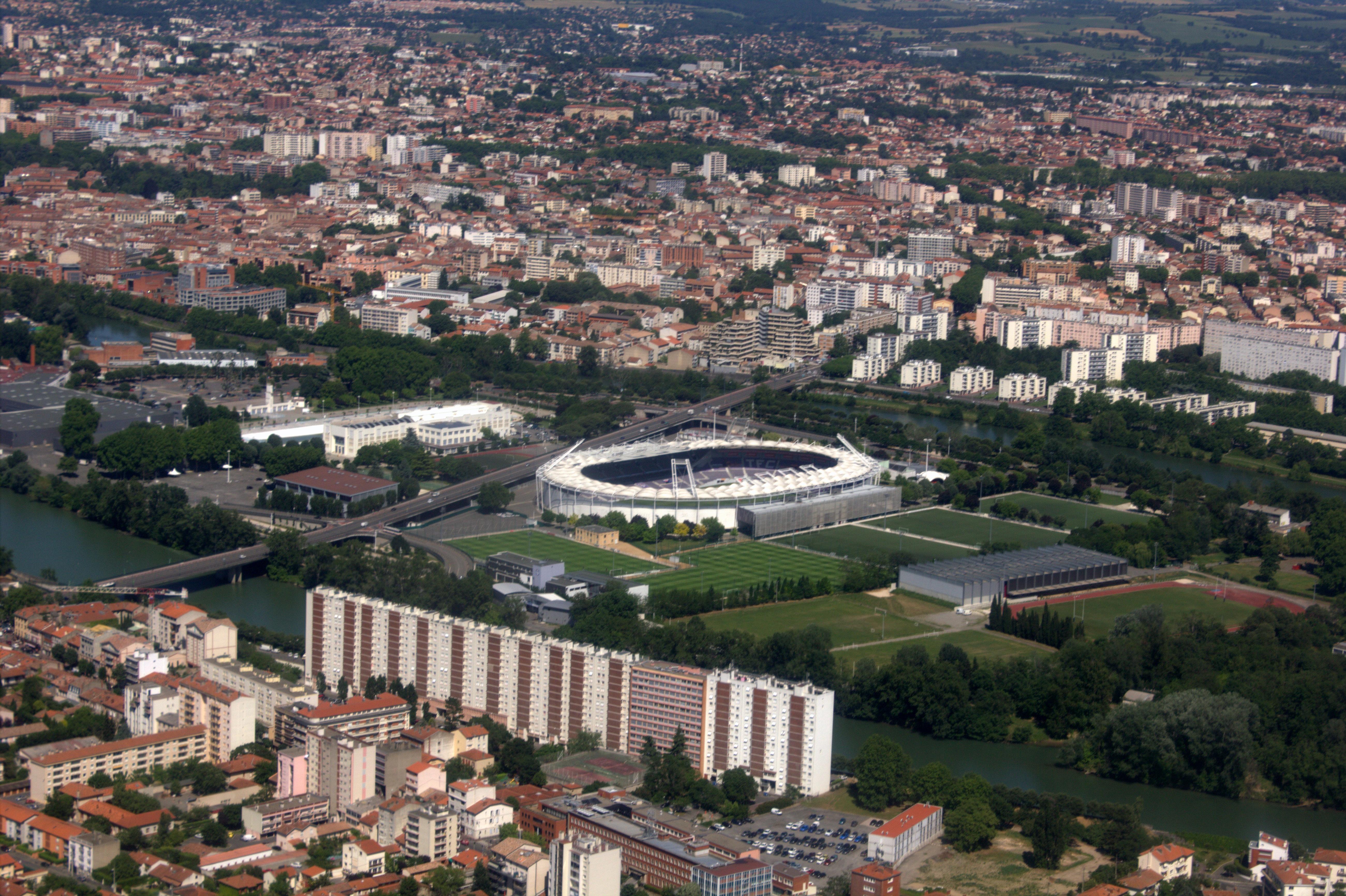 Stadium Aerial View File:aerial View of Stadium