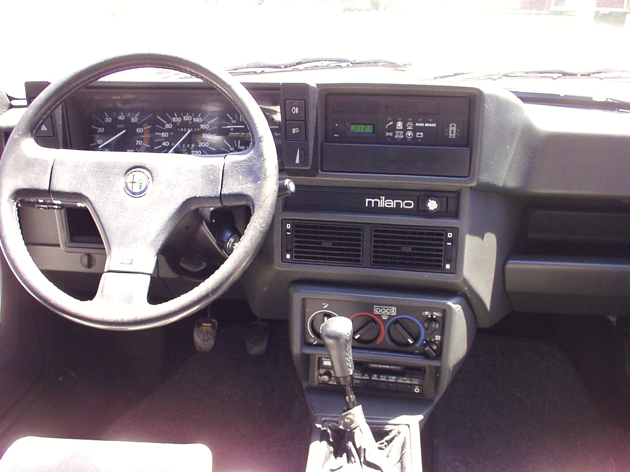 File alfa milano 75 dashboard on alfa romeo 164