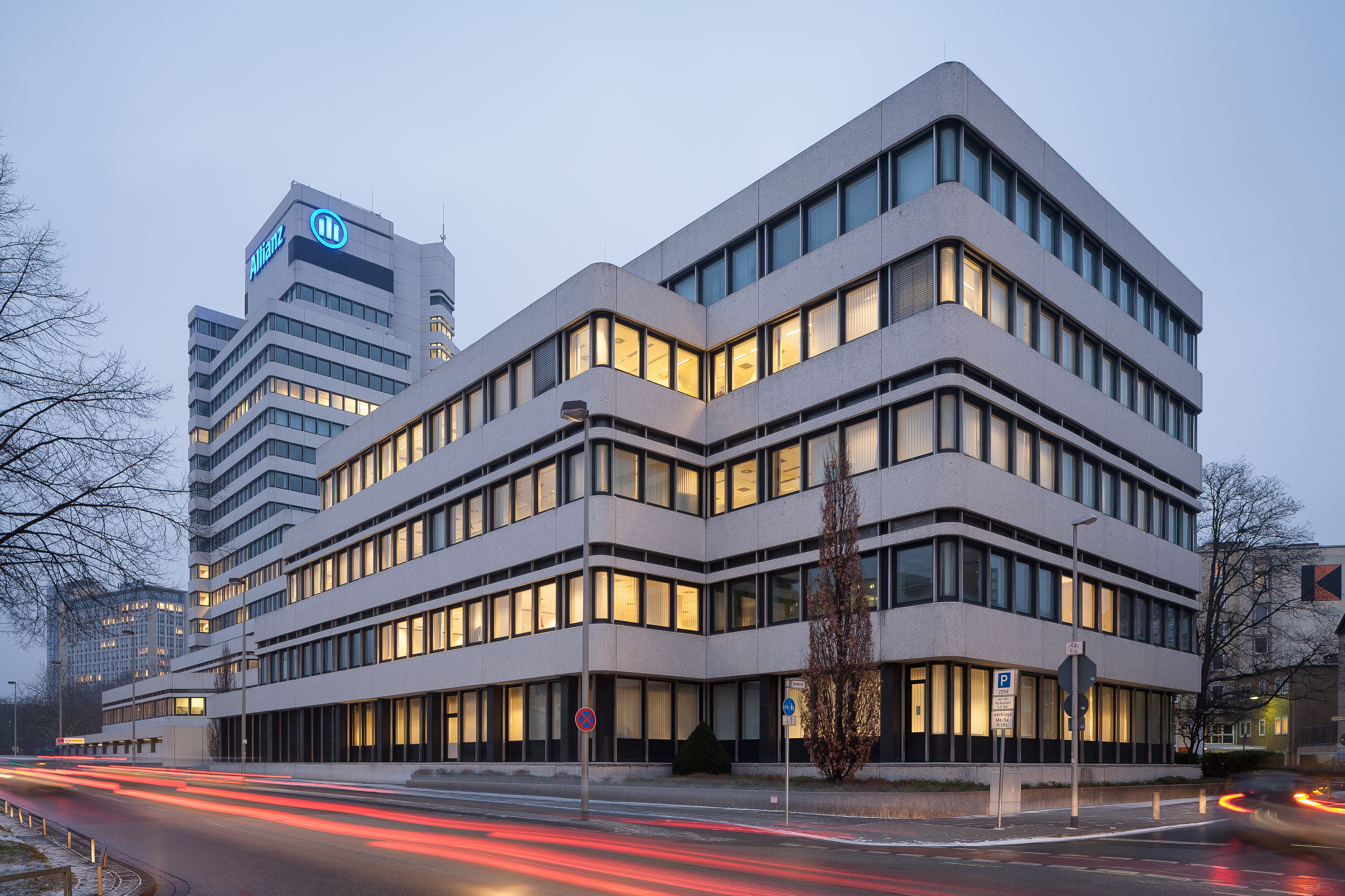 File Allianz Insurance Office Building Hanover Germany 02