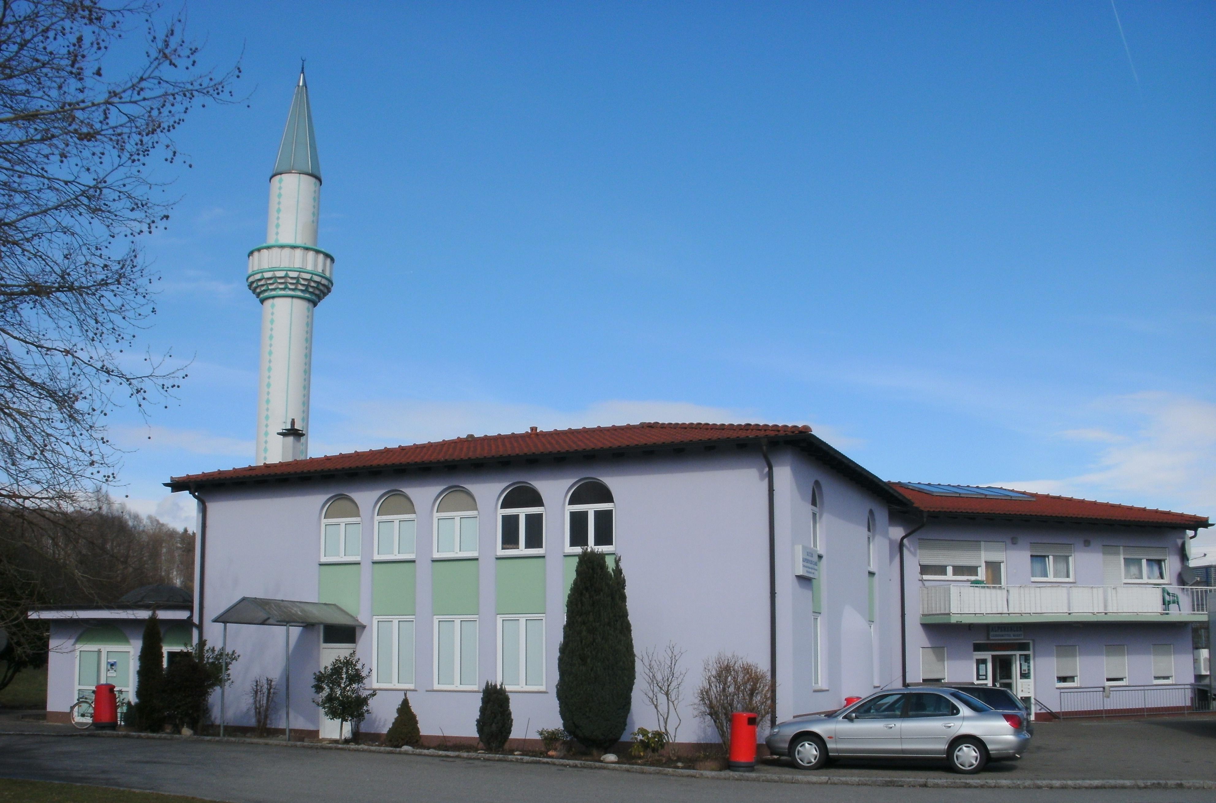 File alperenler moschee in rheinfelden baden jpg wikimedia commons for Freibad rheinfelden baden