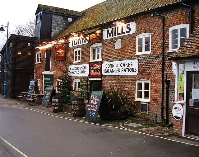 Andover - The Town Mills - geograph.org.uk - 650956