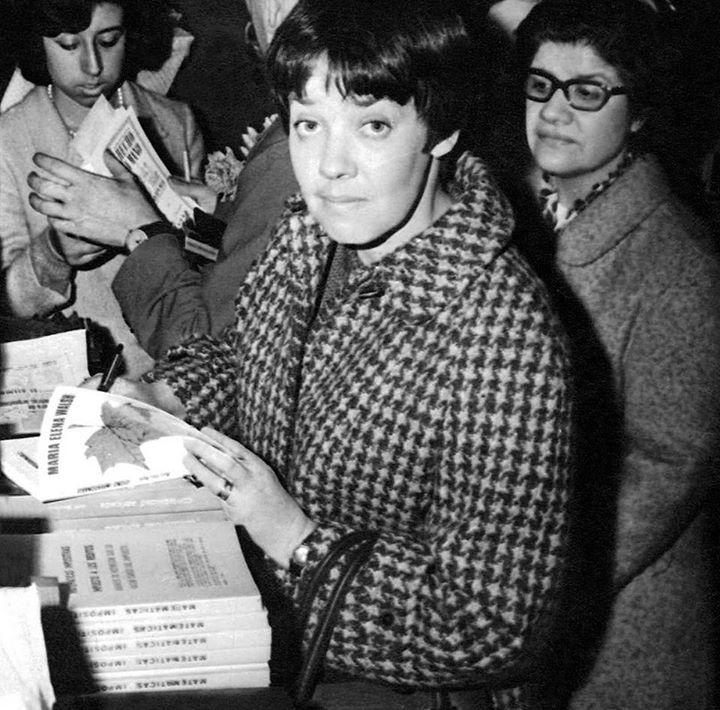 María Elena Walsh en 1962.