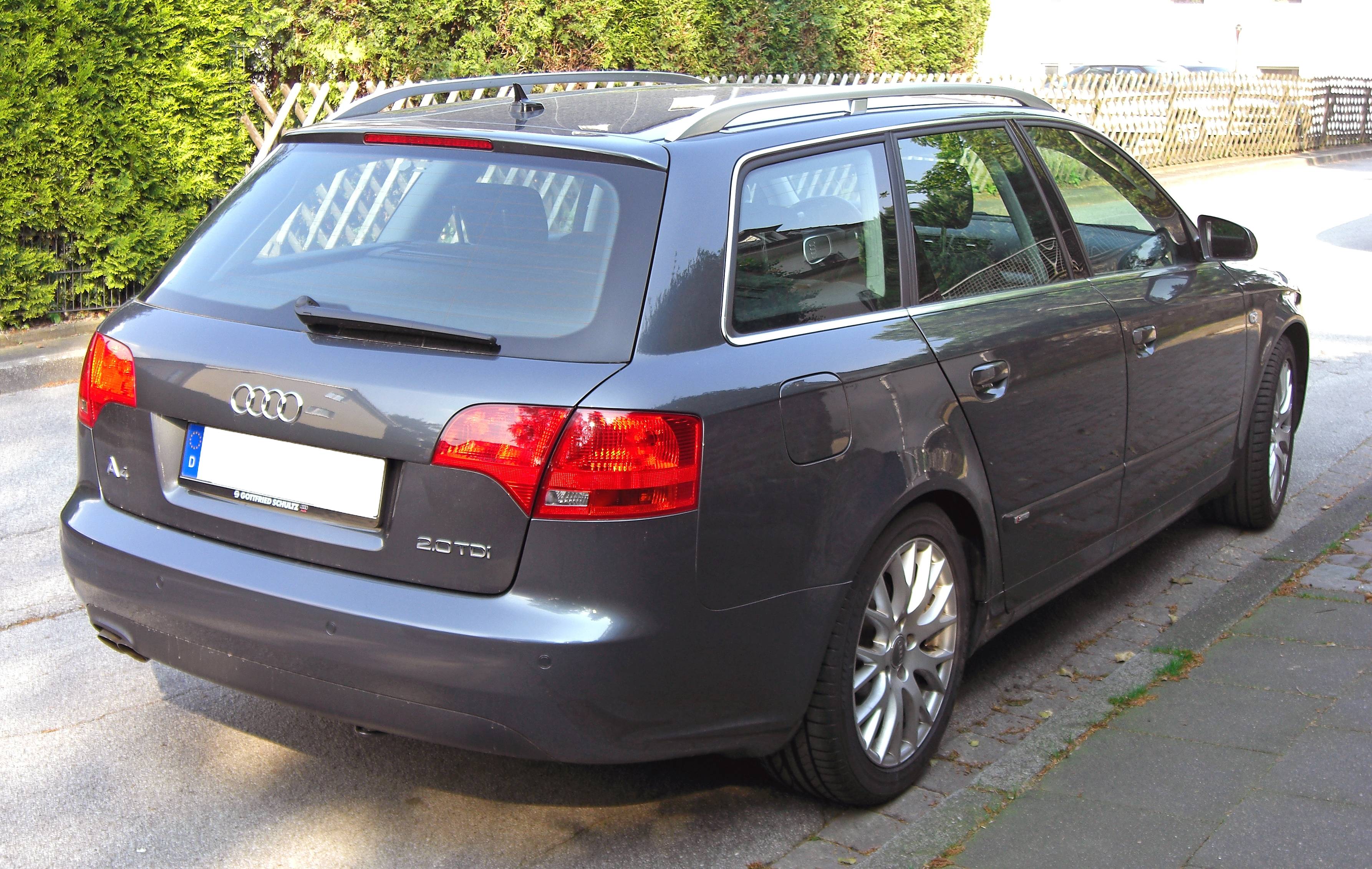 File:Audi A4 B7 Avant 20090424 rear.jpg - Wikimedia Commons
