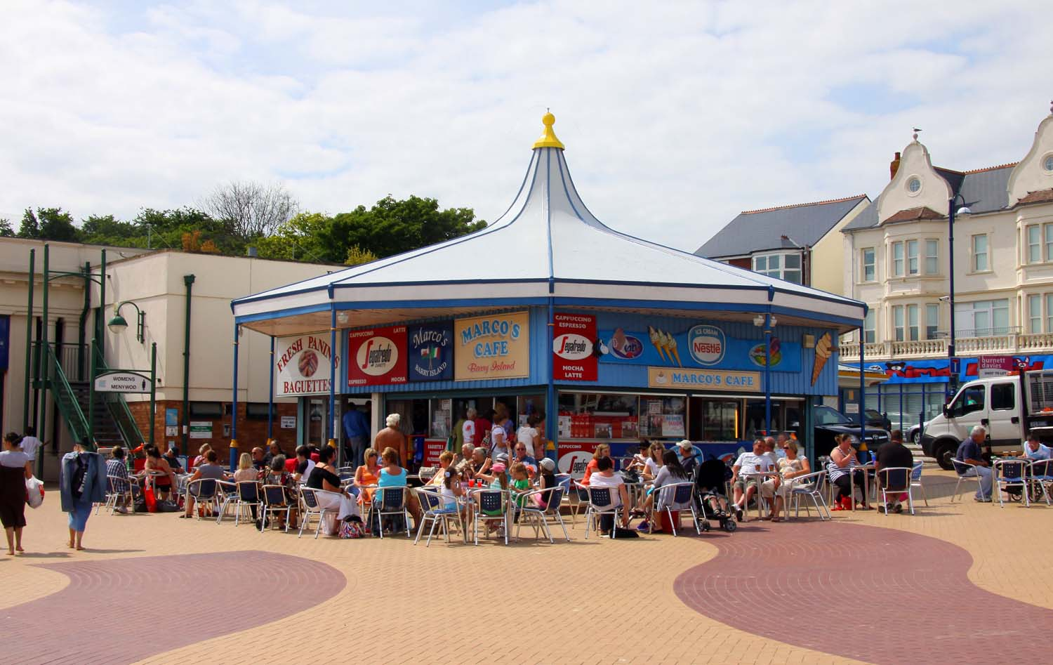 Barry Island Pleasure Park Closed Down