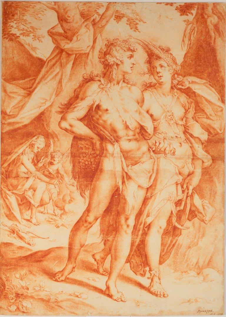Bartholomeus Spranger (atrib.) - Baco e Ceres.JPG