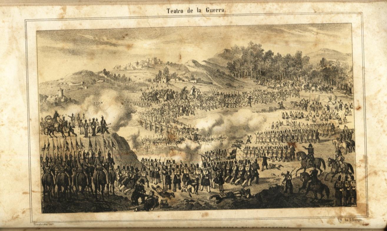 Depiction of Segunda Guerra Carlista