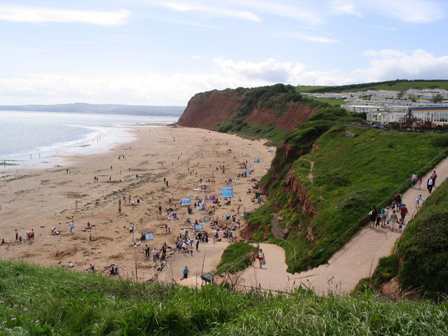 Beach at Sandy Bay - geograph.org.uk - 389103