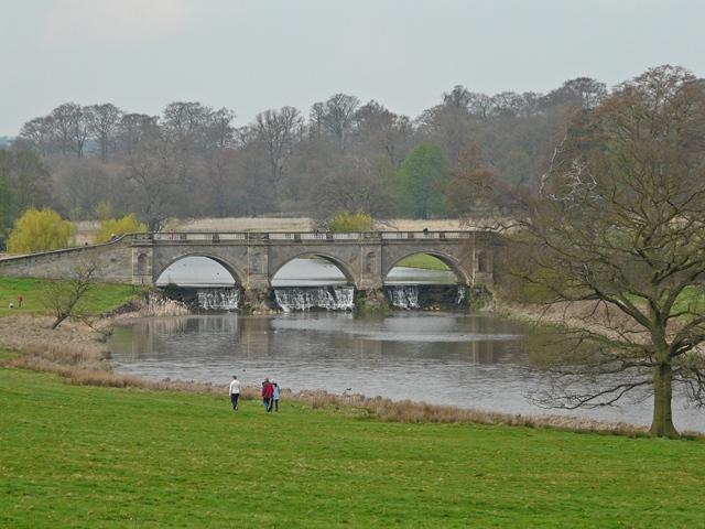 Boathouse bridge, Kedleston Hall - geograph.org.uk - 1274578