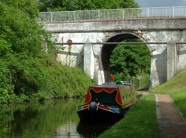 Brewood Bridge across the Shropshire Union Canal, Staffordshire - geograph.org.uk - 1344225