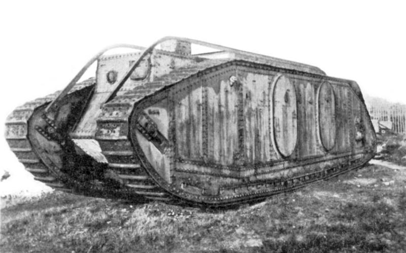Depiction of Tanque Mark IX