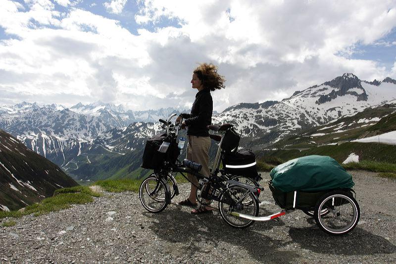 Touring Bike Riding Position