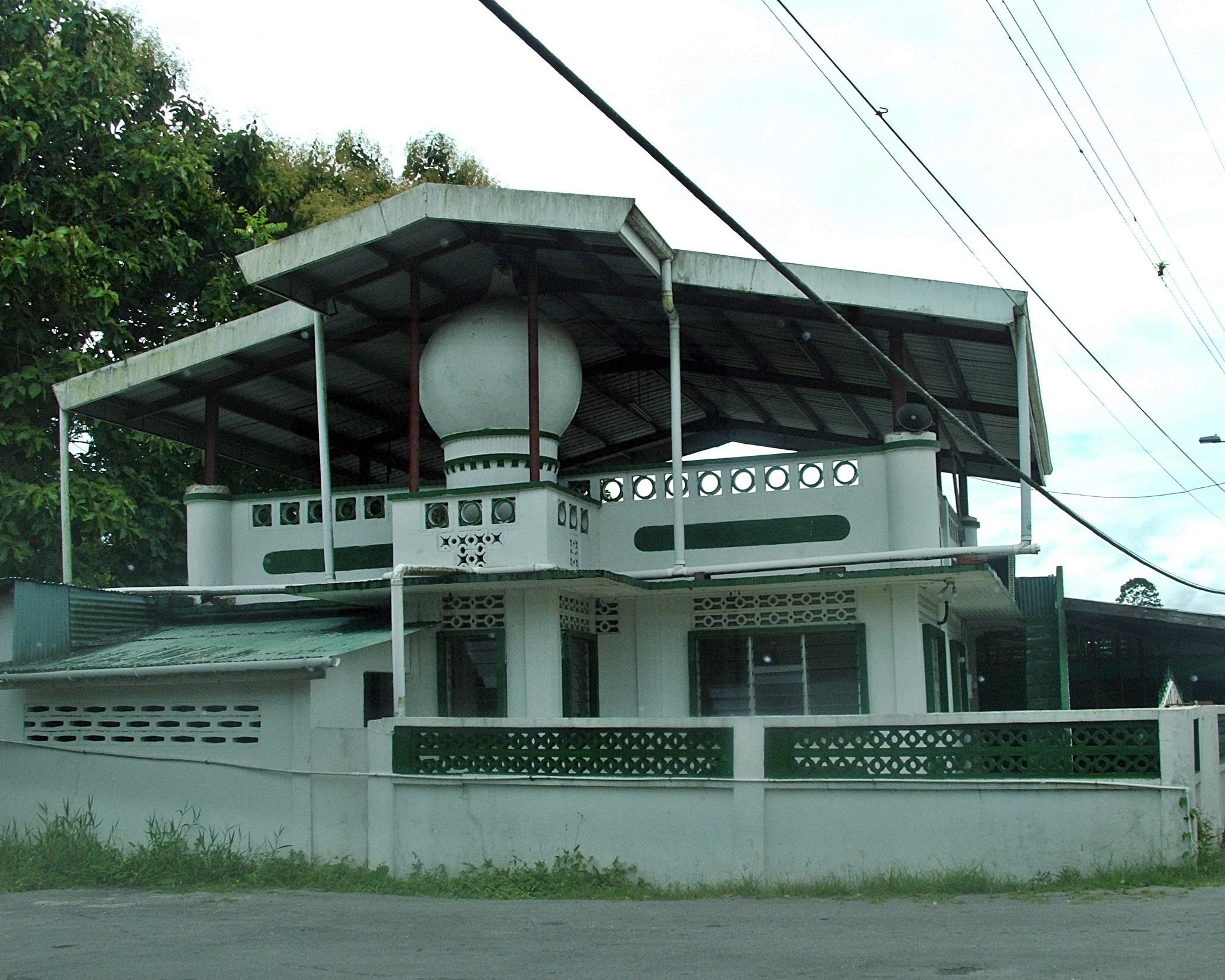 Brother s Road Mosque Rio Claro Trinidad and Tobago
