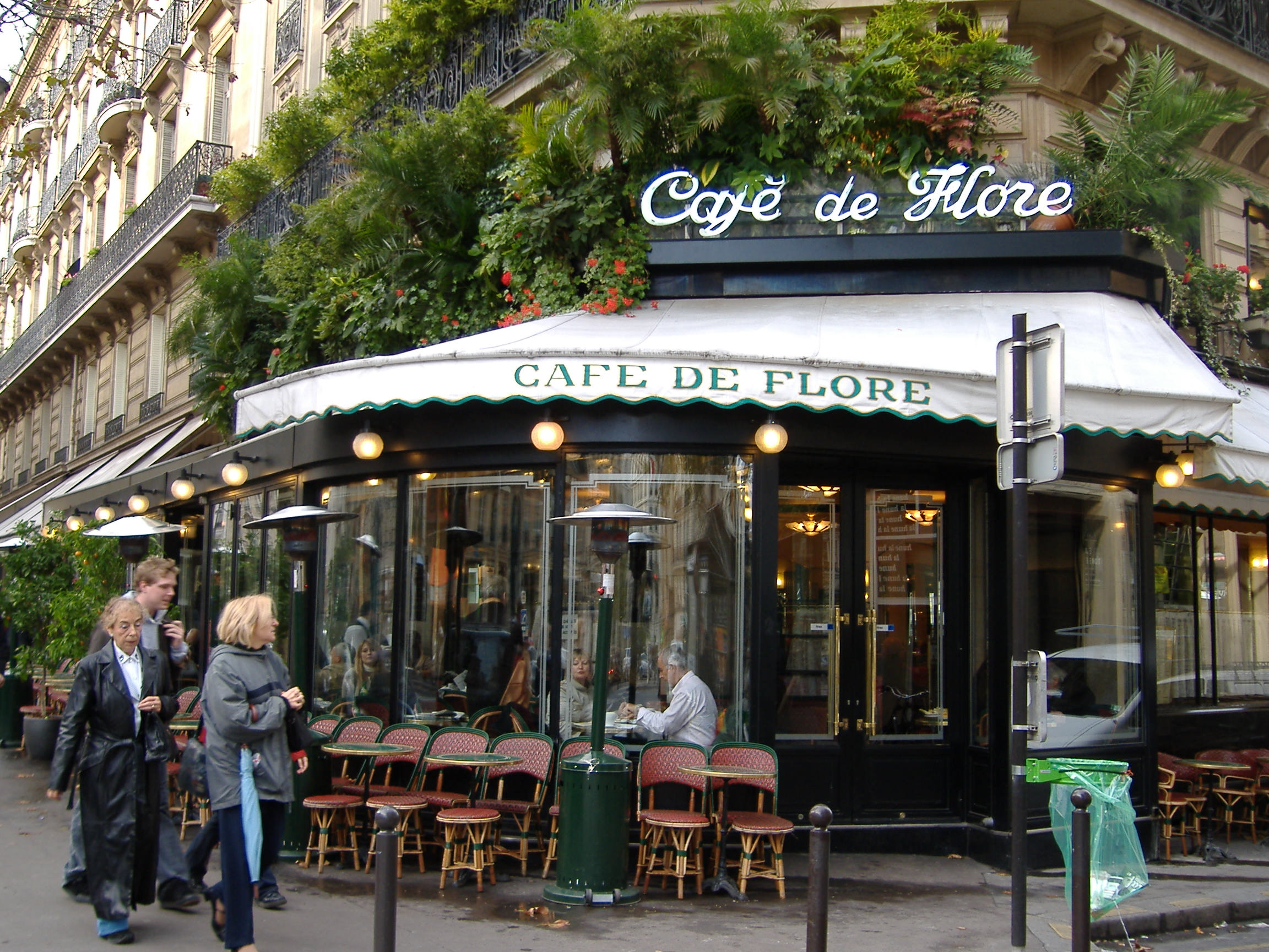 Cafe Tea Rue Brocat