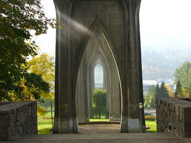 Cathedral Park St Johns Bridge - Portland Oregon