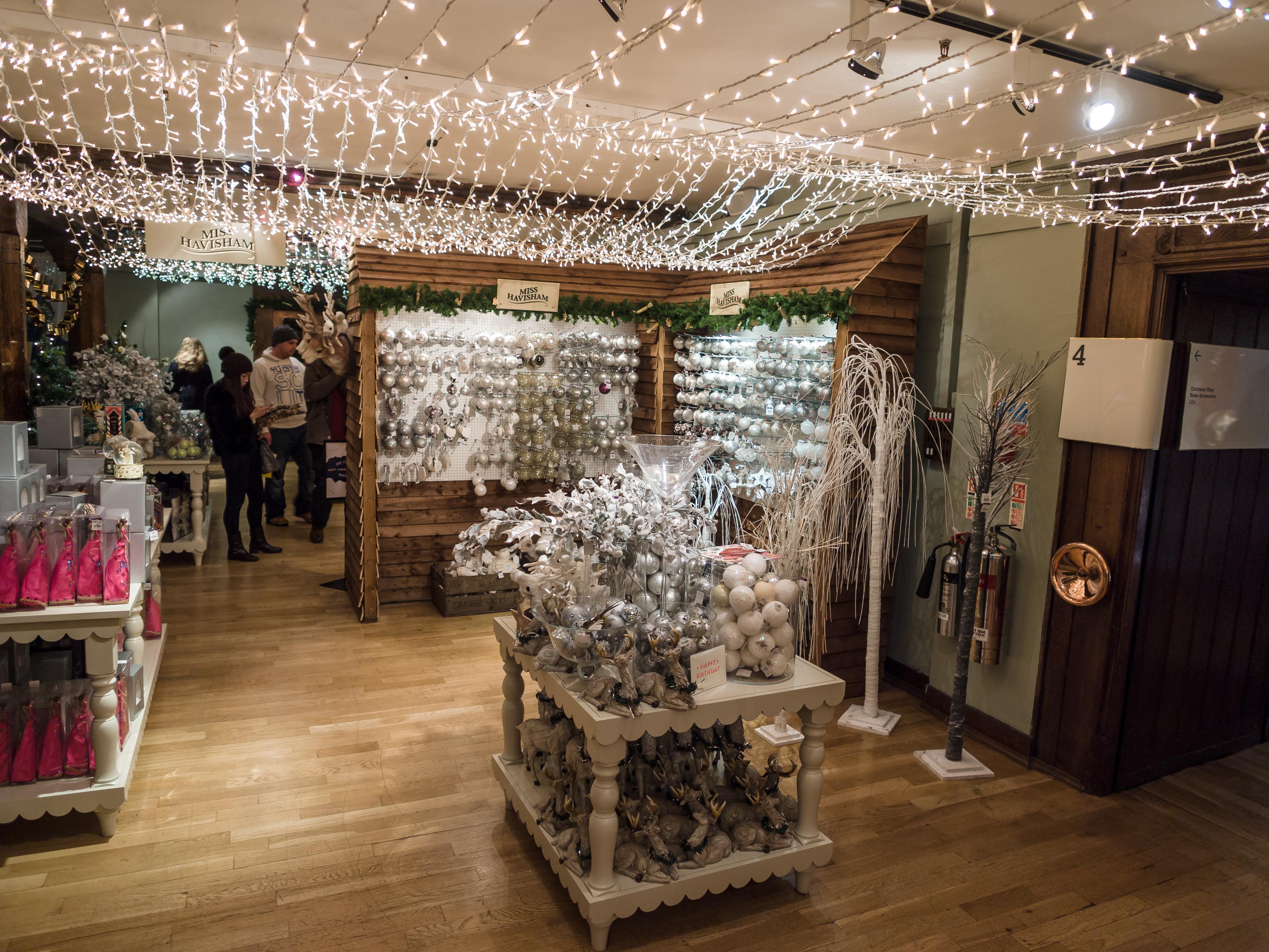 Liberty London Christmas Decorations