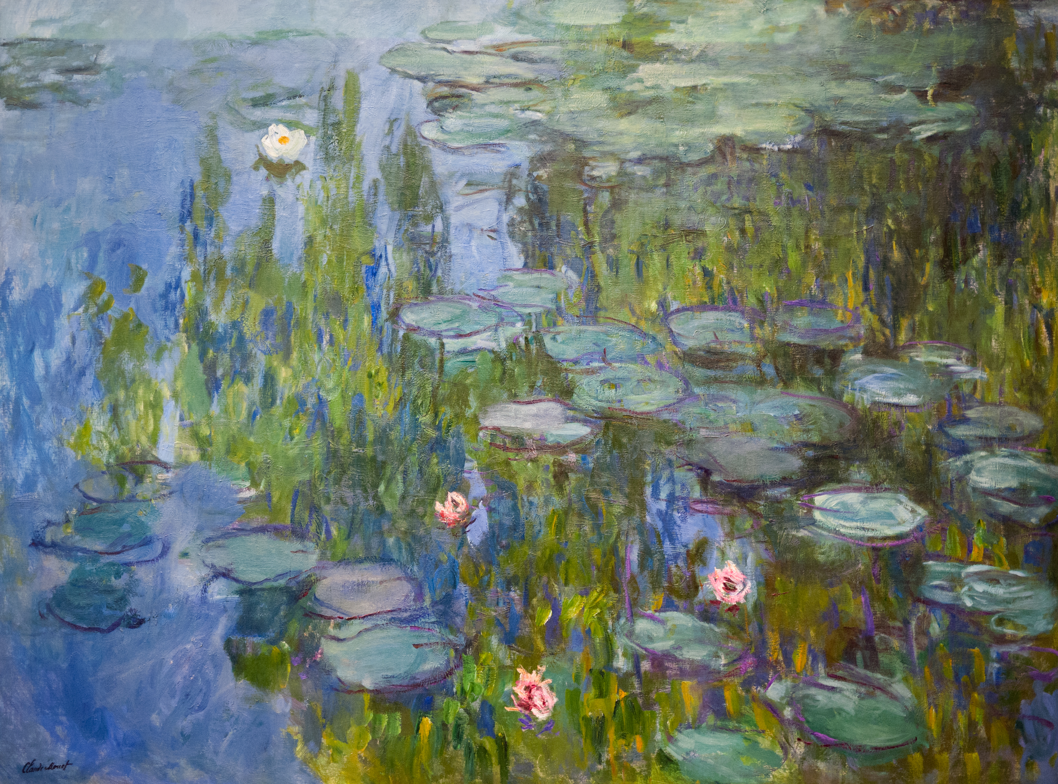 Seerosenteich Monet