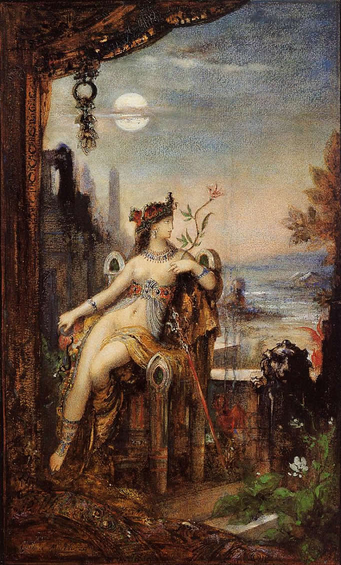 File:Cleopatra by Gustave Moreau.jpg - Wikimedia Commons